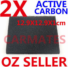 2X Carbon Filters for FUME SMOKE ABSORBER EXTRACTOR FAN SOLDERING STATION Iron