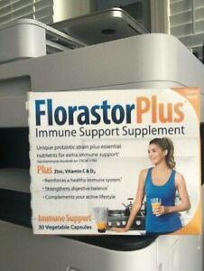FlorastorPlus Daily Probiotic Supplement Saccharomyces Boulardii 04/2022 SEALED