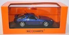 Voitures miniatures bleus MINICHAMPS pour Porsche