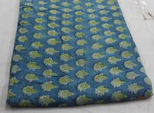 Decorative Indian Cotton Fabric Hand Block Print Dressmaking Craft By 1 Yard