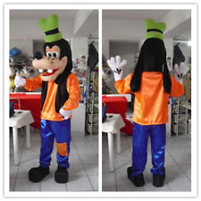 Hot Goofy dog Mascot Costume Fancy Dress Adult Size Free Shipping 156