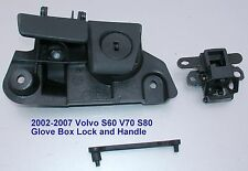 2001-2007 VOLVO S60 V70 GLOVE BOX HANDLE LOCK LATCH ASSEMBLY 9184994