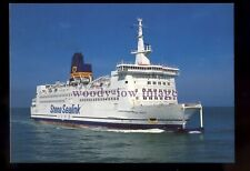 FE3506 - Stena Sealink Line Ferry - Stena Invicta , built 1985 - postcard