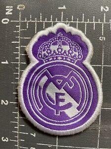 Real Madrid Club De Futbol CF C.F. Patch Crest Football Soccer Spain La Liga