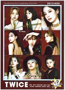 Twice 10P Photo Poster 13 (A4 Size) K-POP