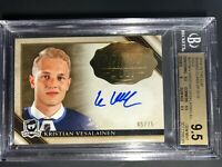 2018-19 The Cup Kristian Vesalainen GOLD Rookie Class Of 19 /75 BGS 9.5 10 Auto