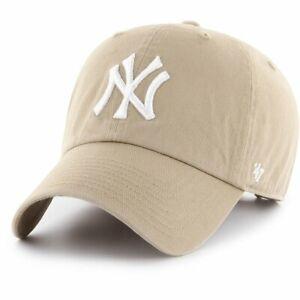 47 Brand Adjustable Cap - CLEAN UP New York Yankees khaki