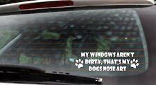 Car Sticker Van Funny Window Bumper Decal  JDM Dogs nose art