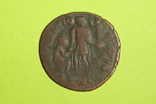 THEODOSIUS 379 AD-395 AD Ancient ROMAN COIN raising kneeling city goddess VG old
