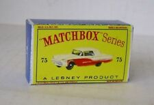 Repro Box Matchbox 1:75 Nr.75 Ford Thunderbird neuer