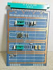 Vero Terminal Prototype Wirewrap Plugbord Dip Socket Circuit Board Part 11825