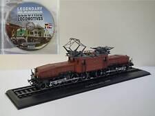 Ce 6/8 II Nr. 14253 Krokodil, 1:87 HO, Atlas locomotive display model, free DVD