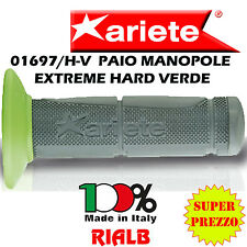 Paio Manopole Moto Cross Off Road EXTREME HARD VERDE ORIGINALI ARIETE 01697/H-V