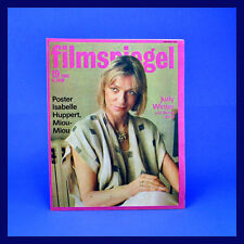DDR ▶ Filmspiegel 19/1986 Miou-Miou Kinder von Golzow