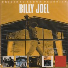 Billy Joel/Cold Spring Harbor, Glass Houses, kohuept, tra l'altro (5 CD, Nuovo! OVP)