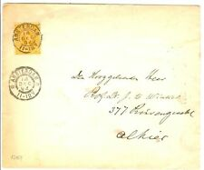 NED  1894  3 CT HH LOKAAL AMSTERDAM PROEFSTEMPEL?? F/VF