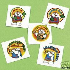 FELIZ NAVIDAD 12 temporary kids tattoos CHRISTMAS L@@K