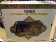 MFSL GOLD CD  CREAM  Live cream 1 & 2  Two CD box-set