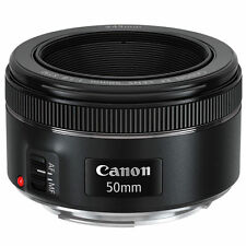 Canon EF 50 mm F 1.8 STM  Prime Lens For Canon With Auto Focus Black