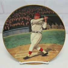 Jimmie Foxx THE BEAST The Legends of Baseball Collectors Plate 1993