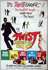Filmplakat Twist around the Clock (USA 1961) Chubby Checker Dion Marcels