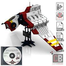 CB Eigenbau Bauanleitung UCS Republic Shuttel NRAS für Star Wars™ LEGO® Steine