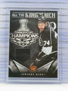 2012-13 Rookie Anthology Dwight King All The King's Men Game Used Jersey G61