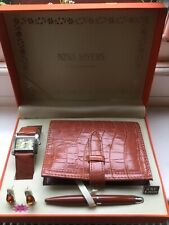 Nina Myers Gift set Unused Watch Earrings Pen And Filofax In Gift box