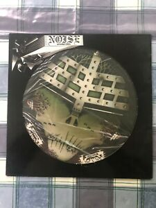 """Voivod Too Scared to Scream / Cockroaches Noise N 0085 12"""" Picture Disc 1987"""
