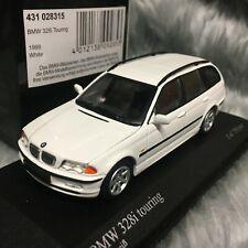 Minichamps 1:43 1999 BMW 328i Touring Alpine White 431-028315