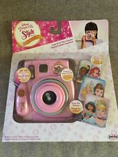 Disney Princess Style Collection Snap and Go Play Toy Camera New