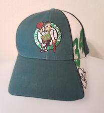 Vintage Paul Pierce Boston Celtics NBA Salesman Sample Green Hat Cap #34 VTG