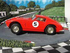 SCALEXTRIC 1960'S FERRARI GT 250 BERLINETTA RED #5 C69 1:32 SLOT USED UNBOXED