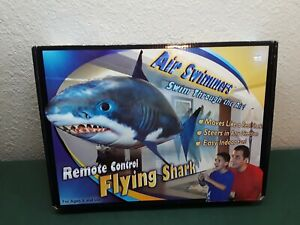 Air Swimmers Remote Control Indoor Flying Shark, Great White, New