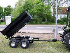 KRÜMA! HK1200 Kipp Anhänger ATV UTV hydraulischer Kipper 1,2 t Elektrokipper