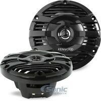 "Kenwood KFC-1653MRB 150W 6.5"" KFC Series 2-Way Marine Coaxial Stereo Speakers"