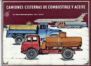 Tank trucks for fuel and oil products Autoexport USSR Brochure