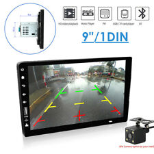 "Navigation Touch Screen Car Stereo 9"" 1 Din Car HD MP5 Player w/Backup Camera"