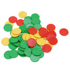68 Pcs/Set Portable Colorful Small Round Poker Gambling Game Chips Props G