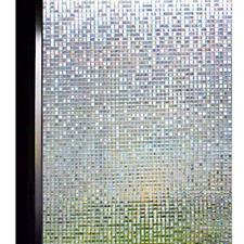 3D Window Film Small Mosaic Privacy Decorative Static Cling Glass Film Anti-UV