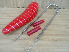 "20"" RED SPARKLE Lowrider Krate Bicycle BANANA SEAT SISSY BAR Grips Included"