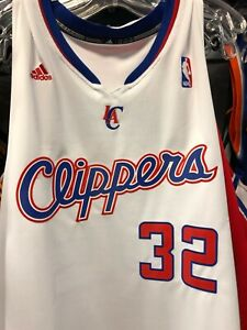 NBA Adidas LA clippers white griffin mens Swingman Jersey