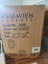 Safavieh ACS4527C Flora Garden Stool Blue Acs4527C NEW