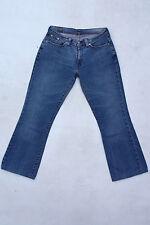 LEVIS 529 Vintage Délavé Femme Bootcut Bleu Denim Jeans Stretch Red Tab W30 L29 Uk12