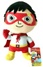"7"" Ryan's World Red Titan Hero Plush Stuffed Figure Toy Gift Ryans Boys Kids"