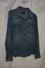 Just Jeans Womens Denim Shirt XS