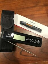 Cappec instant food thermometer flare With Belt Carry Case