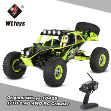 Original WLtoys 10428 1/10 2.4G 4WD Electric Brushed Crawler RTR RC Car D7O9
