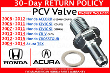 🔥 Genuine Honda Crosstour CR-V Accord Civic TSX PCV Valve + Washer OEM 🔥