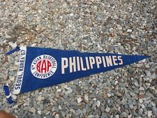 1967 IV Asian basketball Confrence pennant PHILIPPINES Team Mens Championship